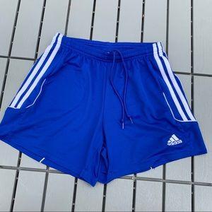 Adidas Soccer Shorts Blue